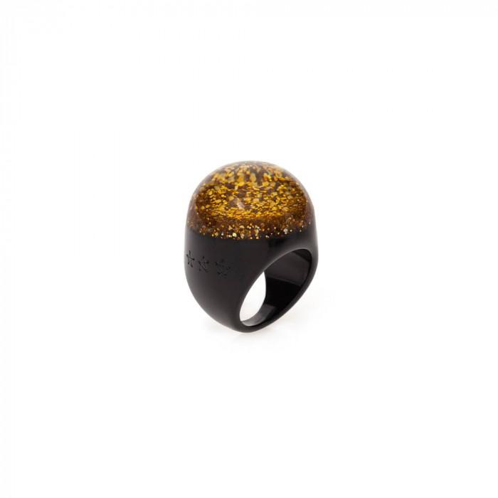 anel  cassino ouro