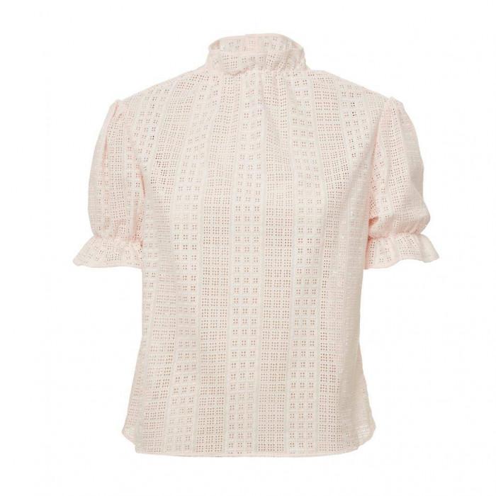 blusa bufant rosa lease