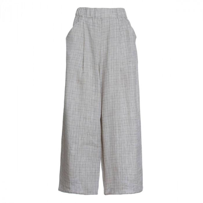 calça pantacourt luiza cru