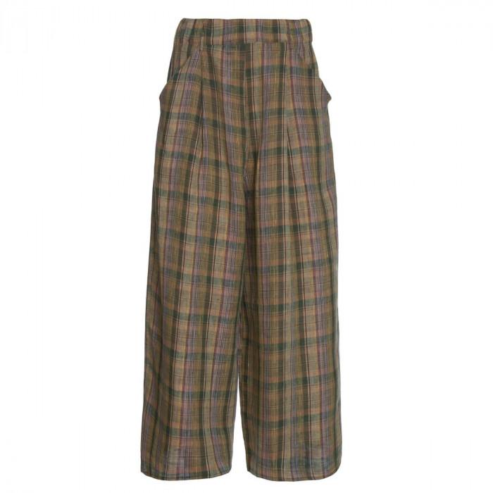 calça pantacourt luiza marrom