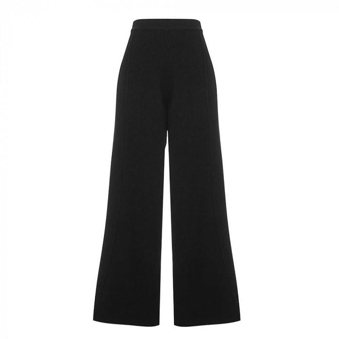 calça tricot yoko preto frente