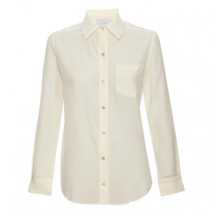camisa lucas off botões swarovski
