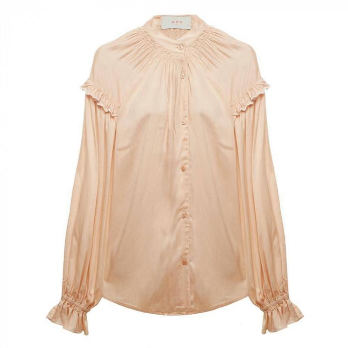 camisa babados spring