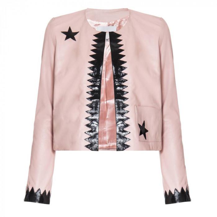 jaqueta celina rosa