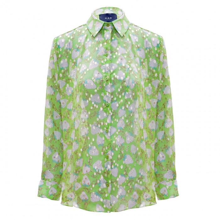 CAMISA LUCAS - STRAWBERRY MATCHA