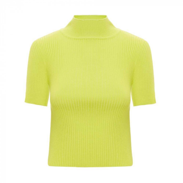 t-shirt jane gola alta amarelo