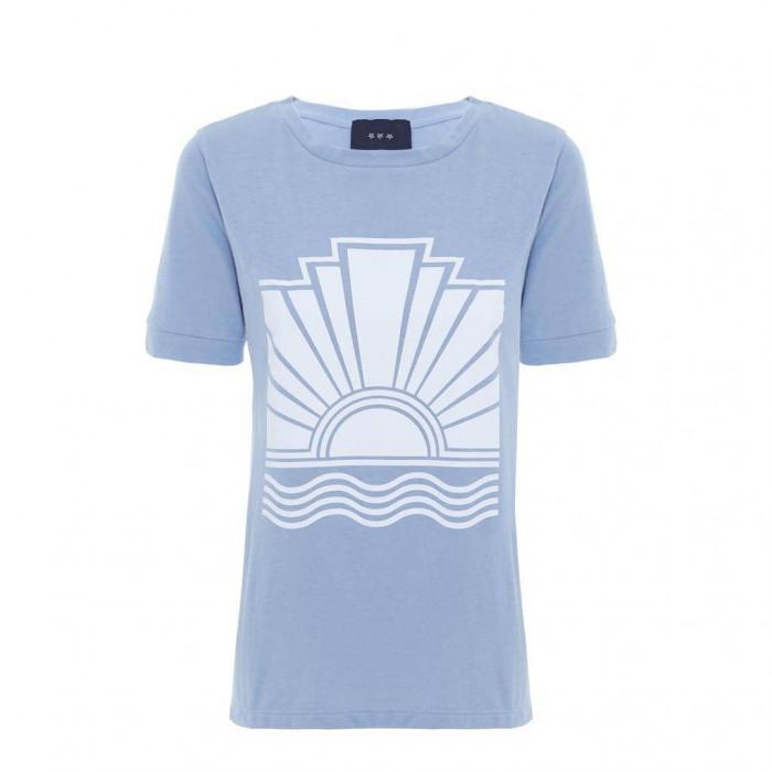 t-shirt por do sol