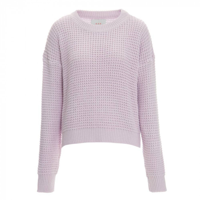 tricot over size rosa