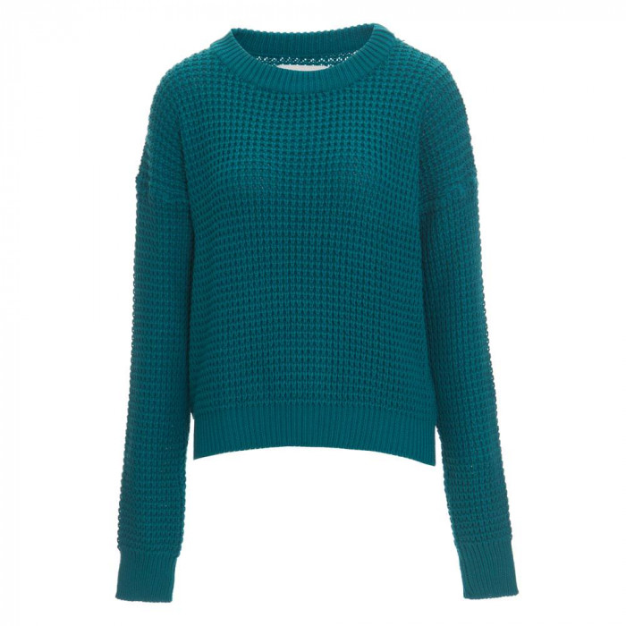 tricot over size verde