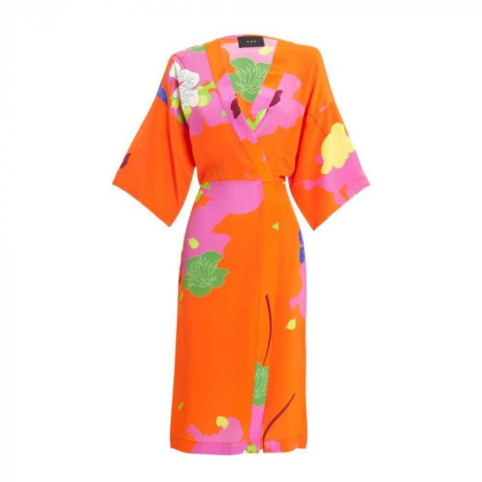 vestido okame floral