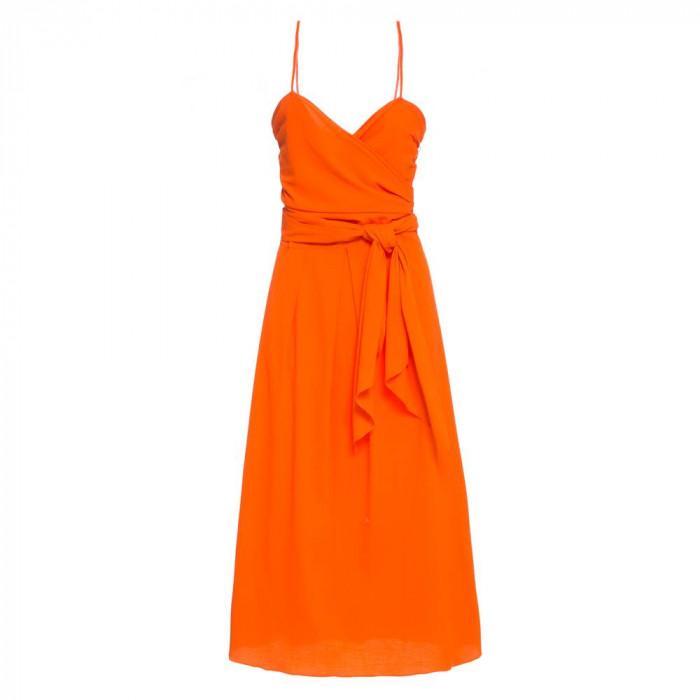 vestido renata laranja